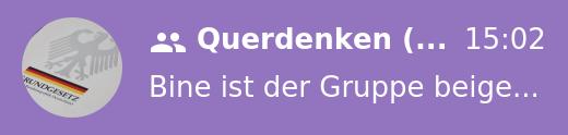 Querdenken 711 Homepage